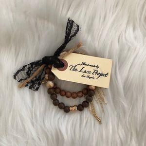 The lace project bracelet